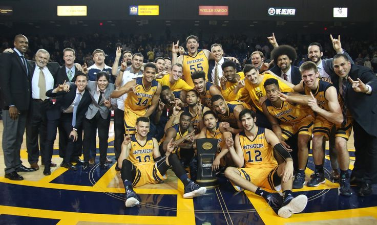 UCI wins the 2016-17 Big West regular season title (12-4)  and NIT bid.  Only 3rd time in program history UCI wins title out right.