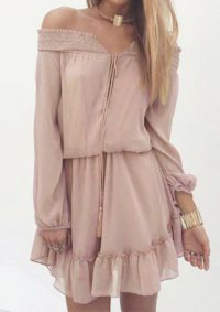 Rose Dress Wild Billy online fashion boutique! Free shipping and nothing over $50!