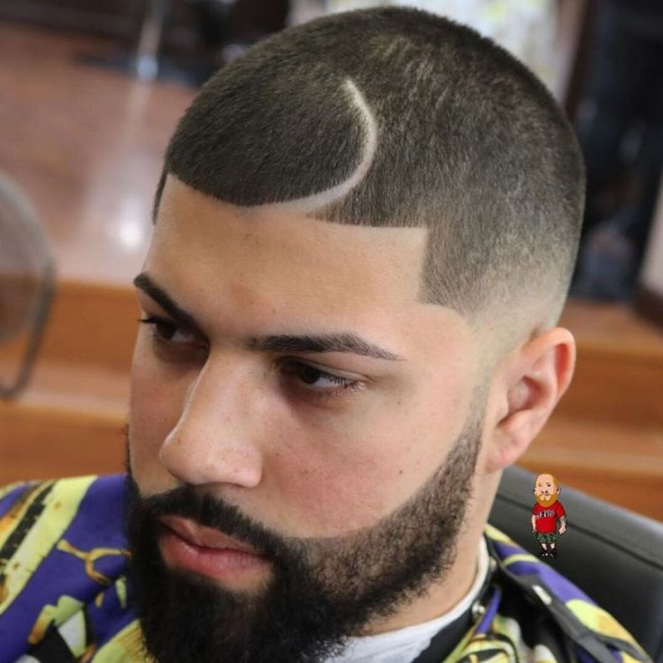 24 Best BuzzCut With Beards Images On Pinterest