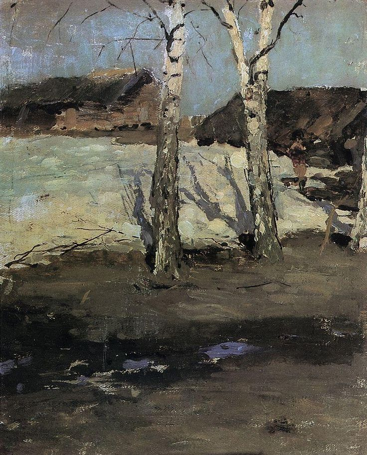 Lilacs, 1915 by Konstantin Korovin. Impressionism. flower painting