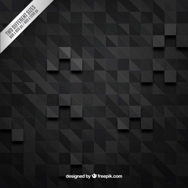 Dark pixels background Free Vector