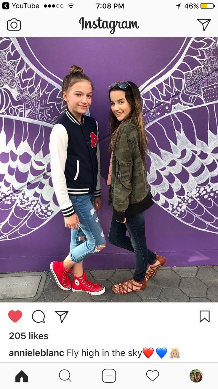 Annie and Jayden Friendship goals