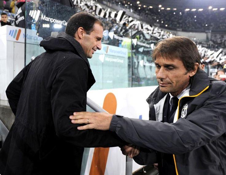 Conte-Allegri batte il doppio Mancini-Mourinho, ma non e' tennis