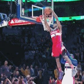 NBA Slam Dunk Contest Results: Eastern Conference, John Wall Win [READ MORE: http://uinterview.com/news/nba-slam-dunk-contest-results-eastern-conference-john-wall-win-10514] #easternconference #westernconference #johnwall #shaquilleoneal #paulgeorge #terrenceross #benmclemore #drake #sports #nba #Basketball
