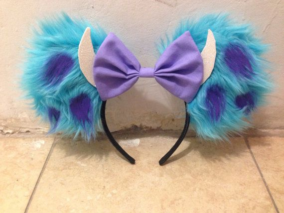 Sully Minnie Mouse Ears by OneBowTwoBows on Etsy