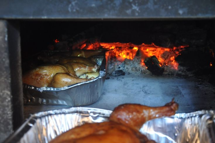 Woodfire Roasted Chicken