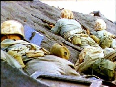 Blacks sands of Iwo Jima