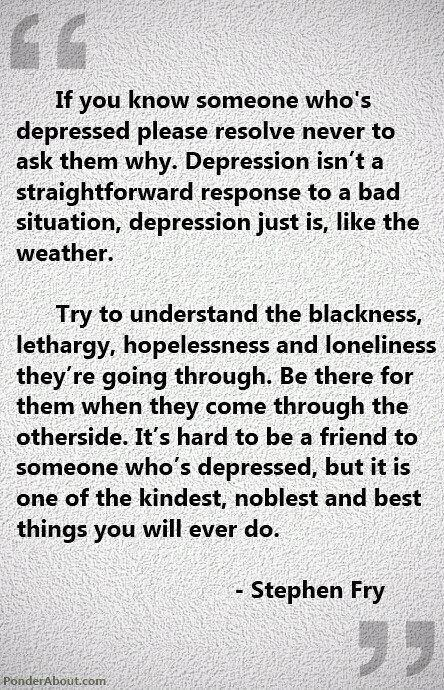 Depression quote that inspires