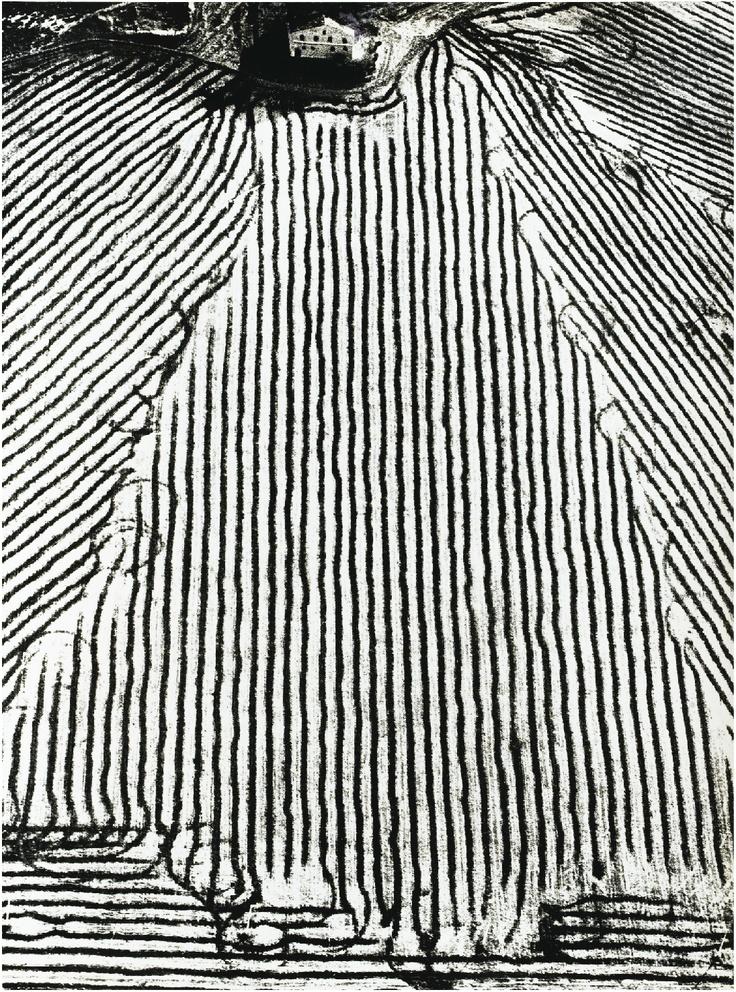 Mario Giacomelli, Paysages, Années (circa 1970-80), 4 gelatin silver prints