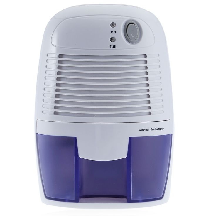 Mini Dehumidifier For Home Moisture Absorber Dehumidifier Absorber Moisture With 500ML Water Tank Portable Quiet Air Dryer