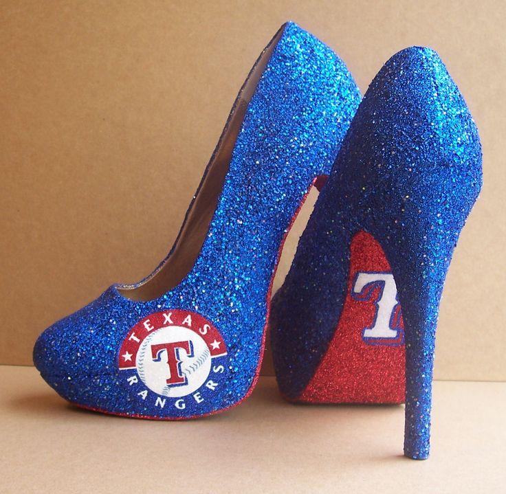 Custom High Heels  Texas rangers