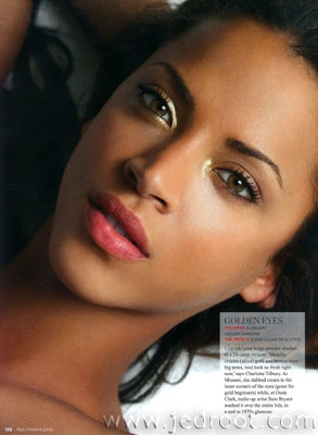 Luminous eye makeup is a subtle way to add pizzazz to a day look. - Glamtrotting Magazine #GlamtrottingMag