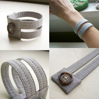 Cool button bracelet I want to make and possibly embellish even more.   http://easymakesmehappy.blogspot.com/