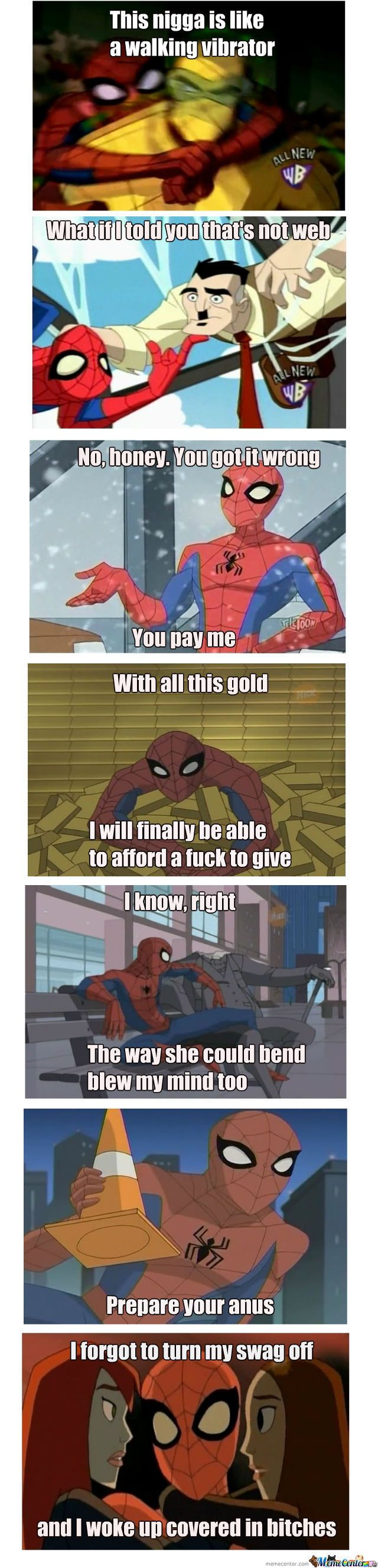 the spectacular spider-man meme | Spectacular Spider-Man 60's Style