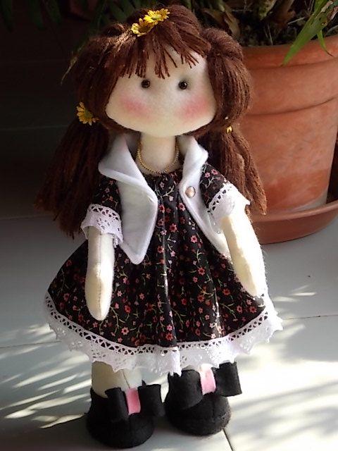 Martina....bambola di panno