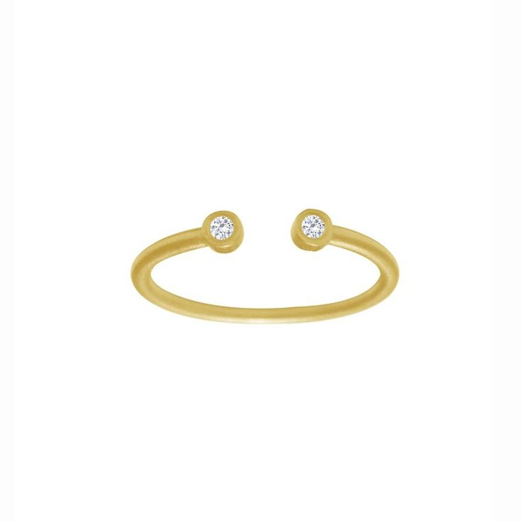 Open Two Dots ring str 54