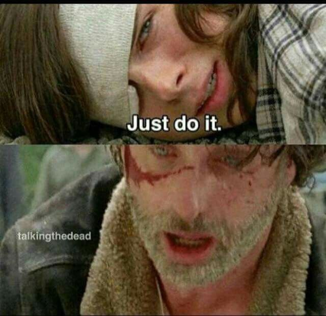 That moment when Carl is stronger than his dad... just heartbroken! Simply broken.. still