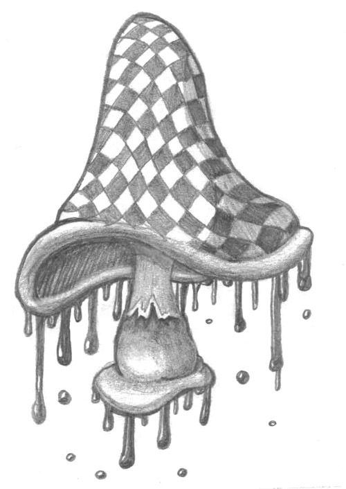 trippy magic mushroom coloring pages coloring pages - Free Printable Mushroom Coloring Pages