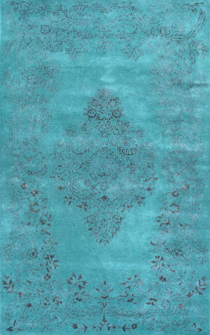 Overdye RE23 Vintage Leaf Ornament Rug