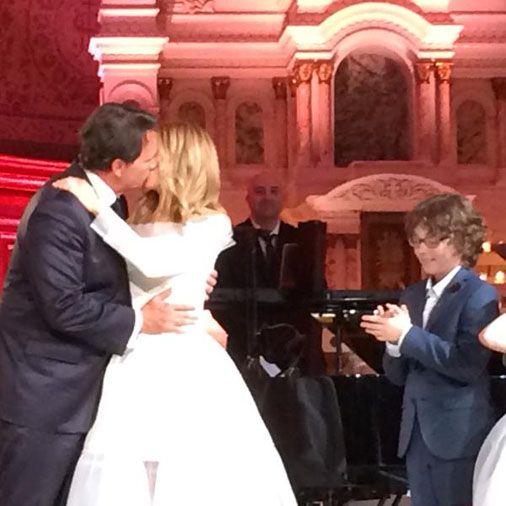 Le maire de Québec Régis Labeaume déclare Pierre Karl Péladeau et Julie Snyder unis par les liens du mariage