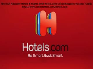 Find out the adorable hotels with hotels com unitedkingdom  Visit At : http://www.collectoffers.com/Hotels.com  Hotels.com Voucher Codes and Discount Codes. Hotels.com offers you the ability to compare over 240,000 hotels in more than 60 countries worldwide, such as London, Singapore, Las Vegas, Paris and Rome. The Reward program is great for regular travellers, offering 1 free night for every 10 that you stay. Choose from luxury suites, family rooms, or standard rooms for a quick stopover…