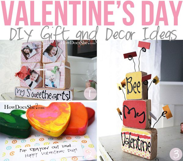 DIY gift and decor....Make this the best Valentine's Day with these ideas!