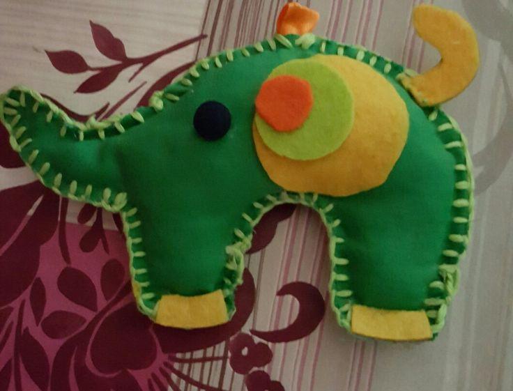 elefantuccio portachiavi