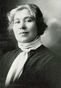 Bessie H. Nichols, the first woman elected to the Edmonton Public School Board, and the first woman to hold elected office in Alberta. Nichols won her seat in 1912, but could only serve thanks to a special act of the provincial legislature.