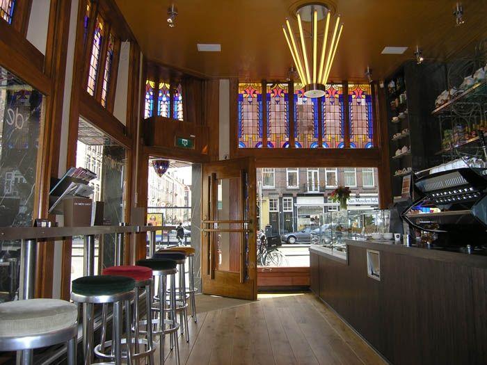 De Koffie Salon. Beste koffie van Amsterdam