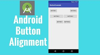 In this tutorial you will learn more about Android button alignment and how you can alignment android button in the same line by using either Android LinearLayout or Android RelativeLayout.