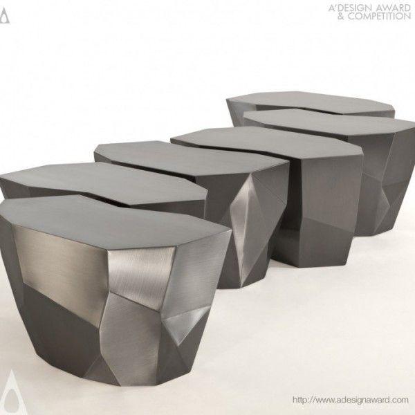 die 27 besten bilder zu polygonal chair auf pinterest, Möbel