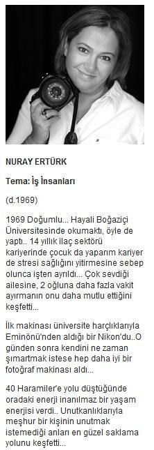 Nuray Ertürk - Yüz Kumbarası Projesi      http://www.yuzkumbarasi.com/nurayerturk