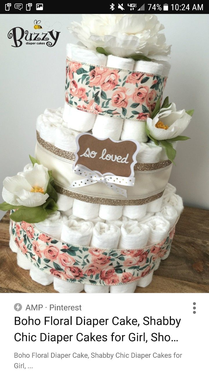 shabby chic bridal shower cakes%0A Find this Pin and more on Britt u    s Baby Shower by lindsay