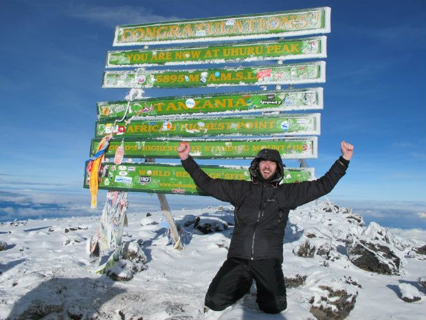 Conquering Kilimanjaro: http://www.flightcentre.ca/blog/video-conquering-kilimanjaro/