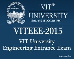 Looking for VITEEE 2015 Exam Notification Dates, Visit Yosearch for VIT University Engineering Entrance Exam 2015 Eligibility, Applications Form, Dates, etc