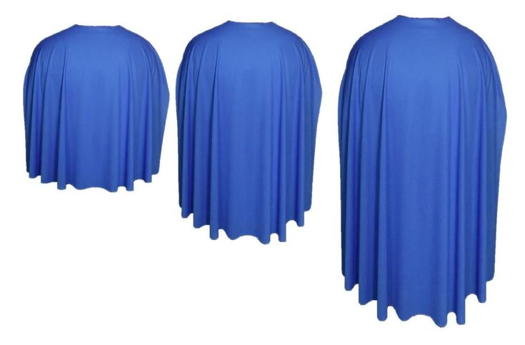 Royal Blue Cape Superhero fancy dress Capes - Super Hero Capes