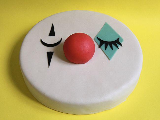 chez bogato clown cake