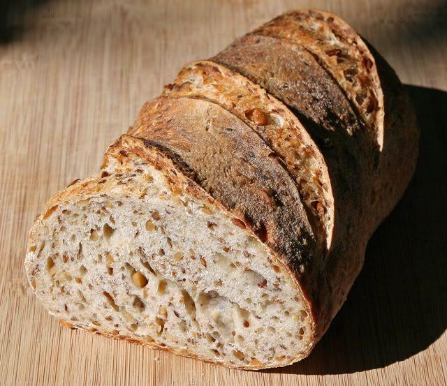 Зерновой хлеб на закваске: crucide