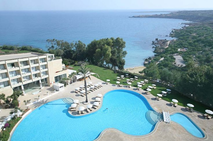 Pool view at Grecian Park Hotel, Cyprus