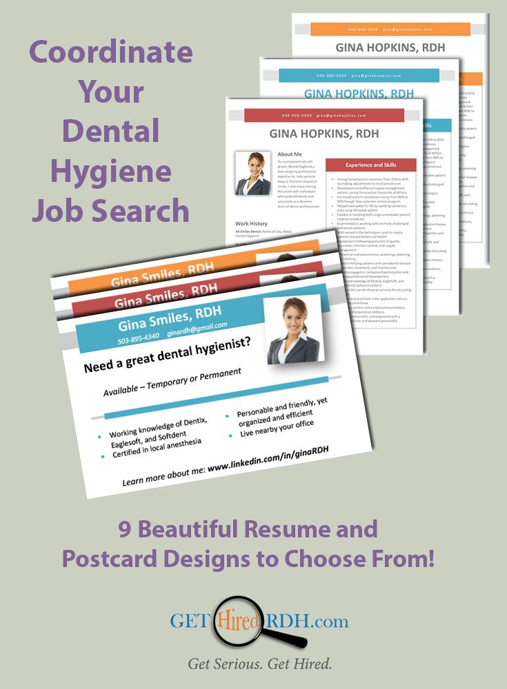 Best About Get Hired Rdh Images On   Dental Hygiene