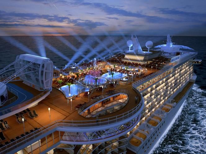 Regal Princess, Princes Cruises.