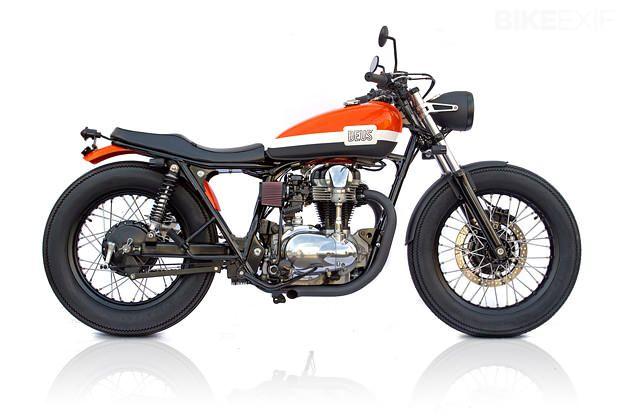 Kawasaki W650  Med noen små endringer.
