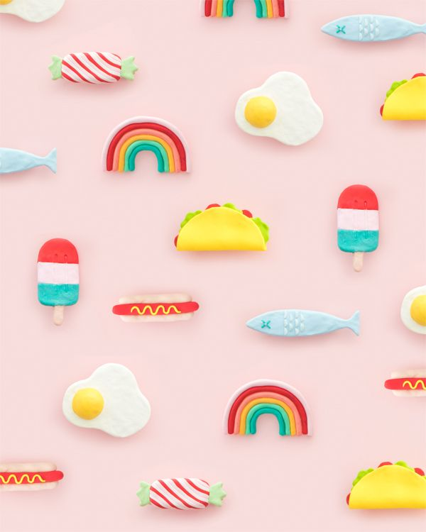 DIY Clay Barrettes | Oh Happy Day!