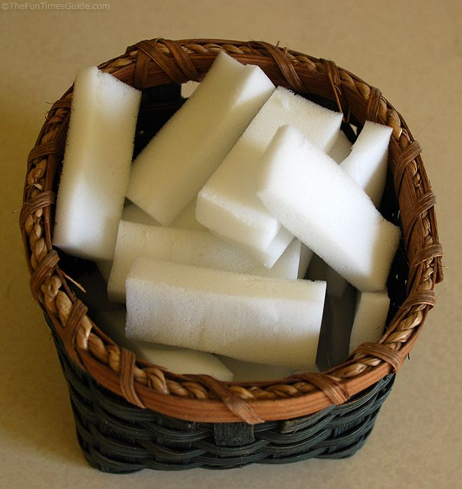 Tip: cut off a piece of Magic Eraser and let it float in the toilet. The toilet bowl ring will magically disappear!