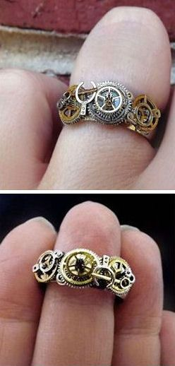 Steampunk Ring ♥ SO Cool!