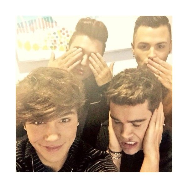 Union J News ❤ liked on Polyvore