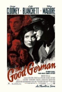 The Good German: While in post-war Berlin to cover the Potsdam Conference, an American military journalist is drawn into a murder investigation which involves his former mistress and his driver.