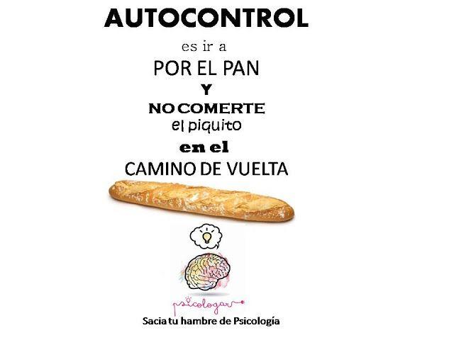 Psicologar: Autocontrol y pan