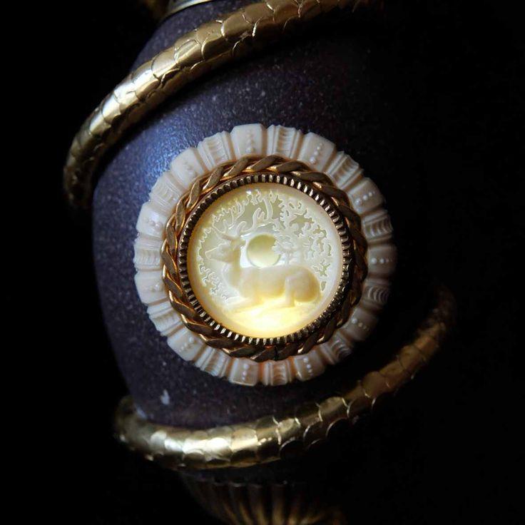 XAVIER SOMERS - SERPENT EGG - Galerie Géraldine Banier http://www.widewalls.ch/artwork/xavier-somers/serpent-egg/ #sculpture