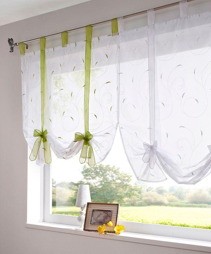 Cortinas para las ventanas de la cocina en 2019 - Decoracion cortinas cocina ...